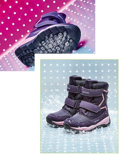 Impronta scarpe geox