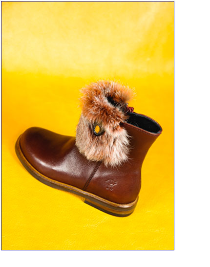 impronta scarpe tronchetto